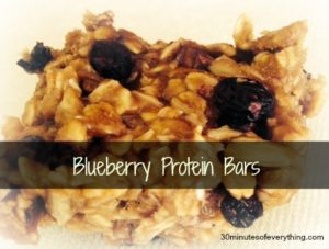 blueberry protein bars EDITED