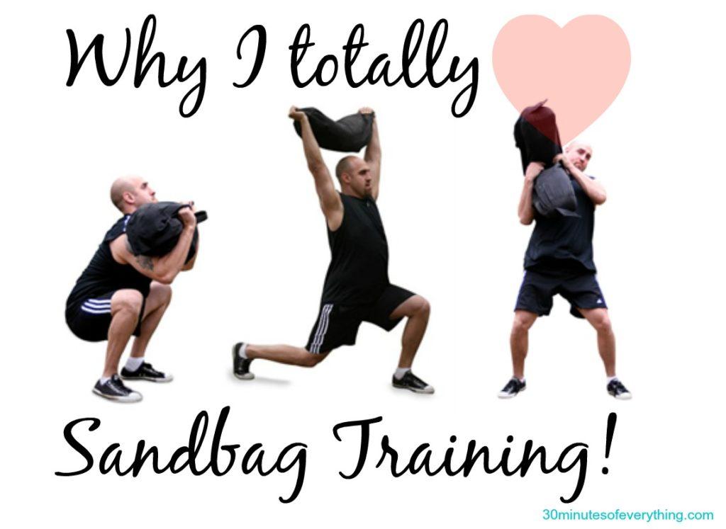 love sandbag training